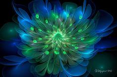 Peacock Bloom by *wolfepaw on deviantart