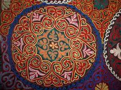 Казахский национальный орнамент и узоры