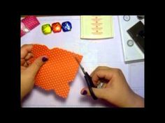 ▶ Treat Holder using Stampin' Up! Envelope Punch Board - YouTube