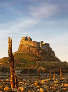 Lindisfarne Castle owned by The National Trust