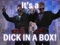 Dick in a Box- The Lonely Island (feat. Justin Timberlake