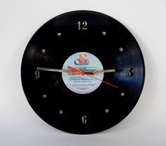 Vinyl Record Wall Clock vinyl record, wall clock, vinyl album, vintag vinyl