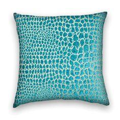 Velvet Decorative Pillow Cover--20 x 20 or 18 x 18 Throw Pillow--Turquoise. $48.00, via Etsy. pillow cover20, throw pillowturquois, decorative pillows, pillow covers, throw pillows, decor pillow