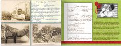 Great-great-grandmother's nut roll recipe: http://blog.shutterfly.com/13723/genealogy-photo-book-project/