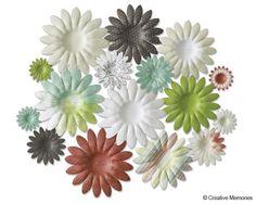 Enchanted Paper Flowers from Creative Memories  #scrapbooking    www.creativememor...