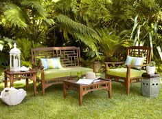 Give your outdoor view an Eastern exposure with our Bandengan Collection