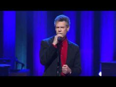 "Randy Travis - ""Three Wooden Crosses"" at the Grand Ole Opry Please pray for Randy Travis...I pray the Lord let's him recover and that Randy will then be used in a mighty way."