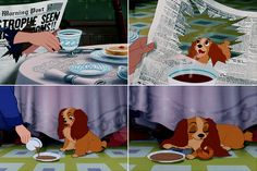 With Lady around we've seen less and less of those disturbing headlines. Lol. Lady and the Tramp
