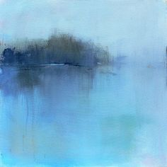 Abstract Landscape Painting Large Contemporary Acrylic by jgouveia
