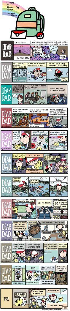[Pokemon] Dear Dad... comics