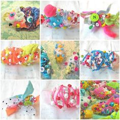 Alma Stoller: new online class: Fabric Beads
