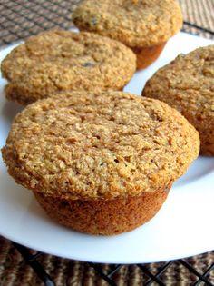Honey Whole Wheat Bran Muffins - A Hint of Honey
