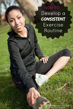 Lisa's got some great tips for how to develop a consistent exercise routine...