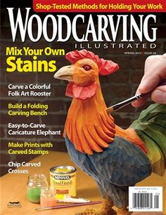 Check out the latest issue of Woodcarving Illustrated. Jammed full of projects, techniques and carving inspiration!