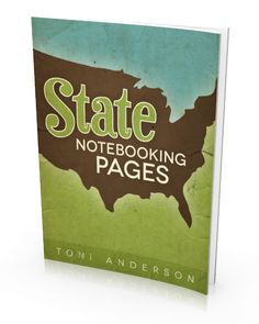 Download your FREE copy of our State Notebooking Pages eBook good outlines of each state. for use in journaling, project life, etc.