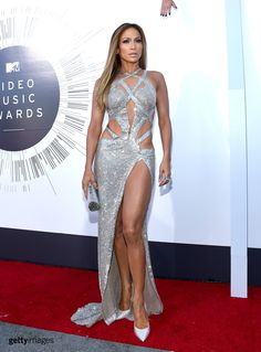 Singer Jennifer Lopez attends the 2014 MTV Video Music Awards at The Forum on August 24, 2014 in Inglewood, California. (Photo by Larry Busacca/Getty Images for MTV)