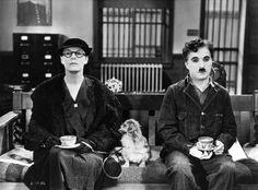 Still of Charles Chaplin in Modern Times