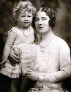 Queen Elizabeth II & The Queen Mother