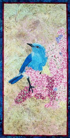 """All Things Bright and Beautiful II"", 10 x 21"",  by Cindy Garcia 