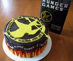 hunger games cake!
