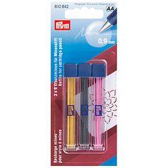 Prym Cartridge Pencil Refills, 9mm