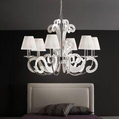 Illuminazione camera da letto in stile moderno, classico, etnico e ...