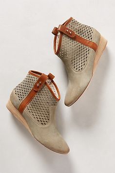 Ambler Perforated Booties #anthropologie
