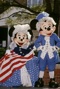 Patriotic #Mickey & #Minnie #Disney