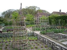 Sarah Raven's fab garden at Perch Hill