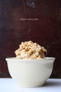 Apple Dip | 4 ingredients, one mixer, several apples, lots of smiles