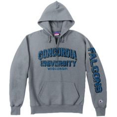 Product: Concordia University Wisconsin Falcons Hooded Sweatshirt $52.00