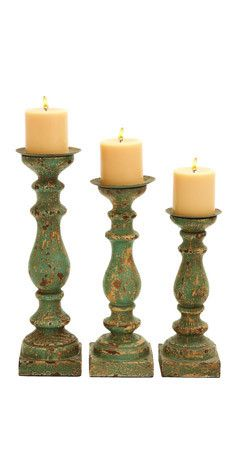 distressed wood, wood products, blue, candle holders, candles, candlehold set, candleholderconstruct materi, wood candlehold, medium