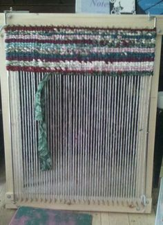 Wooden Rag Rug Loom, one day I want one of these