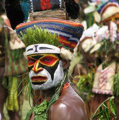 Papua New Guinea Face Art