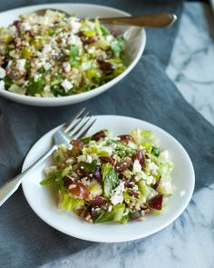 Recipe: Chopped Brown Rice Salad with Grapes and Pecans Recipes from The Kitchn