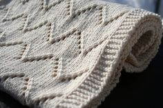 Welcome Baby blanket  knitting pattern PDF by AmandaLilleyDesigns, $3.99