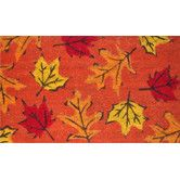 Found it at Wayfair - Fall Leaves Doormat