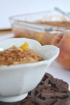 Peach Cobbler (Low-Fat, Sugar-Free, THM:E)