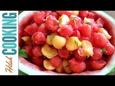 Watermelon Salad - Fourth of July Recipe