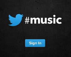 Twitter #Music Is Coming