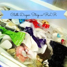 cloth diaper strip with RLR via @thenewmodernmom #clothdiaper