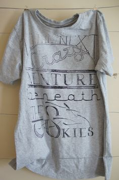 Womens The Next Crazy Venture Fair Trade Tshirt by WanderingYouth, $15.00