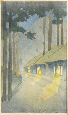 BERTHA BOYNTON LUM ROAD TO THE FOREST, circa 1905