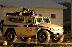 Police Assault Vehicle