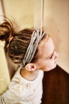 DIY Jersey Headbands {The Creativity Exchange}