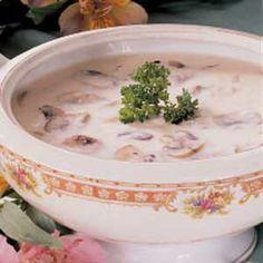 Quick Cream of Mushr
