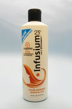 Inexpensive sulfate-free shampoo and conditioner. I heart Infusium 23.