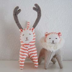 Stuffed animals by Secret Holiday & Co.