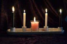 That these candles are me saying a prayer for you.