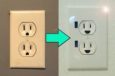 upgrade a wall outlet to usb